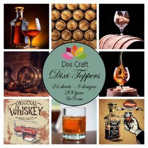 Bilde av Dixi Craft - Dixi toppers - ET0329 -  Whiskey