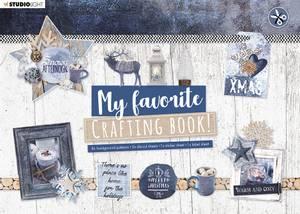 Bilde av Studiolight - My favorite Crafting Book A4 - Snowy Afternoon