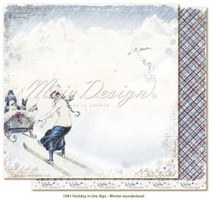 Bilde av Maja Design - 1041 - Holiday in the Alps - Winter wonderland
