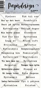 Bilde av Papirdesign - Klistremerker - 2000510 - Hytta