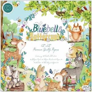 Bilde av Craft Consortium - Bluebells and Buttercups - 12x12 Paper Pad