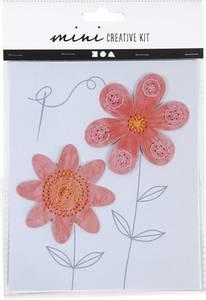 Bilde av Hobbysett - Mini - Broderifigur - Blomster