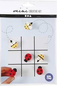 Bilde av Hobbysett - Mini - Modellering - Tre på rad spill