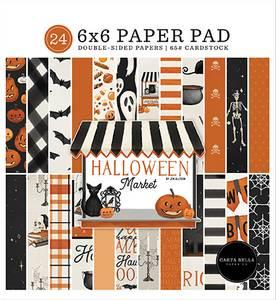 Bilde av Carta Bella - Halloween Market - 6x6 Paper Pad