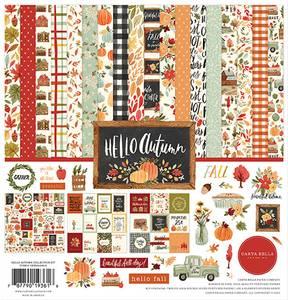 Bilde av Carta Bella - Hello Autumn - 12x12 Collection Kit