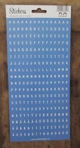 Bilde av Papirdesign - Alfabet - 108 - Blå