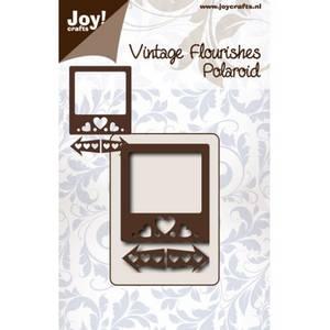 Bilde av Joy Crafts - 6003-0068 - Die - Vintage Flourishes - Polaroid