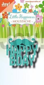 Bilde av Joy Crafts - 6002-1317 - Die - Noor - Moustache