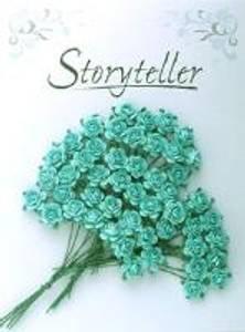 Bilde av Storyteller - Rose - Turkis - 14mm - 1609
