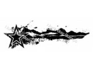 Bilde av North Star Stamps - Stjerne med støvhale stor