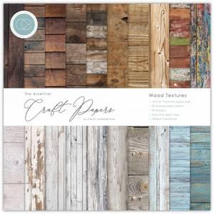 Bilde av Craft Consortium - 12x12 - Essential - Paper Pad - Wood Textures