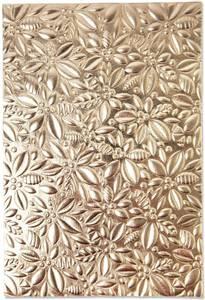Bilde av Sizzix - 3-D Textured Impressions - A6 - 665253 - Holly
