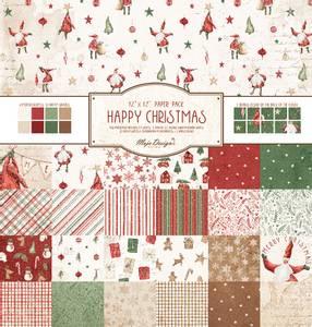 Bilde av Maja Design - 1186 - Happy Christmas - 12x12 Paper Pack