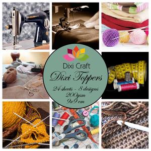 Bilde av Dixi Craft - Dixi toppers - ET0204 -  Sew & Knit