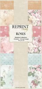 Bilde av Reprint - Slimline Paper Pack - RPS001 - Roses