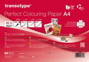 Bilde av Copic - Perfect Colouring Paper - A4 - 10 ark