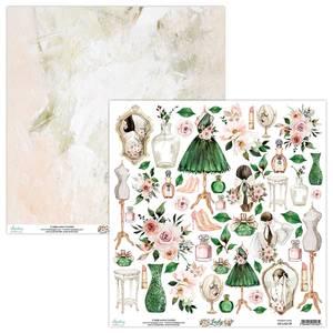 Bilde av Mintay - LAD - 12x12 - Lady - 09 Die Cut Sheet