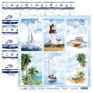 Bilde av ScrapBoys - Summer Breeze - 12x12 - SUBR-06 - Picture Sheet