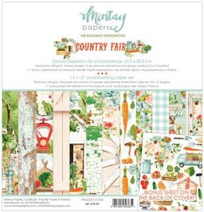Bilde av Mintay - CTR - 12x12 Paper Set - Country Fair