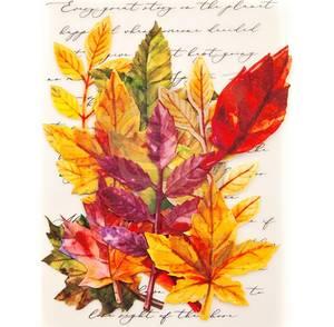 Bilde av Prima - 635664 - Flowers - Fabric Leaves - Fall Solstice