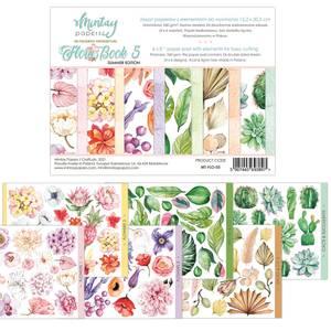 Bilde av Mintay - 6x8 paper pad - Flora Book 05 - Summer Edition
