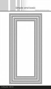 Bilde av Simple and basic - Dies - SBD122 - Base - Slimcard