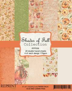 Bilde av Reprint - 6x6 - RPP039 - Shades of Fall Collection pack