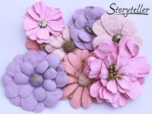 Bilde av Storyteller -  Ass blomster m senter - Rosa-lilla - 3948