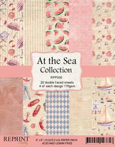 Bilde av Reprint - 6x6 - RPP030 - At the Sea Collection pack