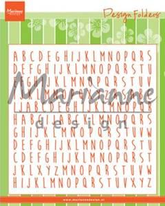 Bilde av Marianne Design - DF3437 - Design folders - ABC