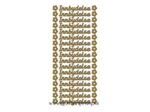 Bilde av Klistremerker - 0065 - Outline stickers - INNBYDELSE 10MM - GULL