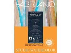 Bilde av Fabriano - Watercolour - 200g HP - 229x305mm - 75 ark