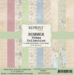Bilde av Reprint - 8x8 - RPM001 - SummerVibes Collection pack