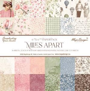 Bilde av Maja Design - 1107 - Miles Apart - 6x6 Paper Pack