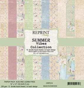 Bilde av Reprint - 12x12 - CRP019 - SummerVibes Collection Pack