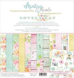 Bilde av Mintay - LOV - 12x12 Paper Set - Lovely Day