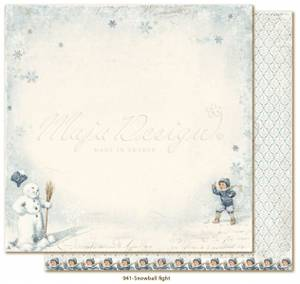 Bilde av Maja Design - 941 - Joyous Winterdays - Snowball fight