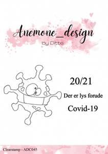 Bilde av Anemone_design - Clearstamp - ADC045 - Covid-19 / Coronavirus