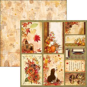 Bilde av Ciao Bella - 12x12 - CBSS079 - Sound of Autumn - Autumn Cards