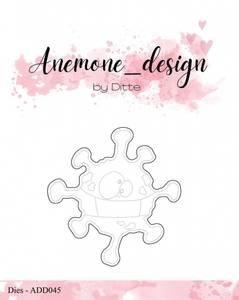Bilde av Anemone_design - Die - ADD045 - Covid-19 / Coronavirus