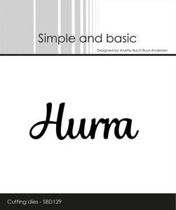 Bilde av Simple and basic - Dies - SBD129 - Hurra