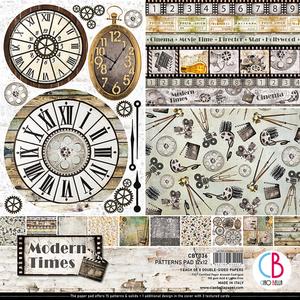 Bilde av Ciao Bella - 036 - 12x12 Patterns Pad - Modern Times - 8pk