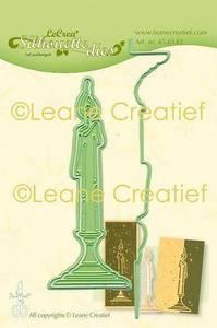 Bilde av Leane Creatief - 45.6142 - Silhouette Die - Candle