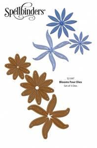 Bilde av Spellbinders - S2-047 - Shapeabilities - Blooms Four