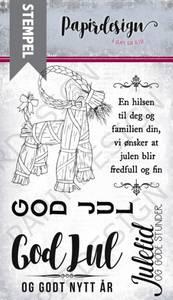 Bilde av Papirdesign - Stempel - PD17335 - Julebukk