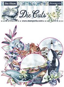 Bilde av Stamperia - Chipboard Die Cuts - 36 - Sea Dream