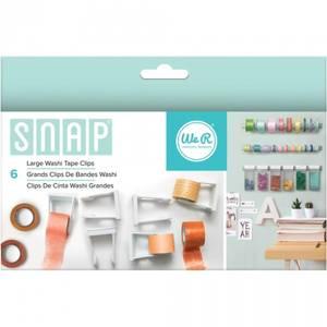 Bilde av We R Memory Keepers - SNAP STORAGE CLIPS - WASHI TAPE LARGE