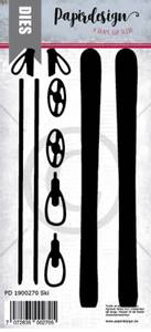 Bilde av Papirdesign Dies PD1900270 - Ski