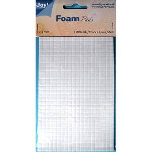Bilde av Joy Crafts - 6500-0001 Foam Pads - White - 5x5mm - h: 1mm