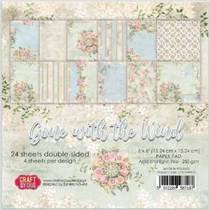 Bilde av Craft & You - GWW15 - Gone with the wind - 6x6 Paper Pad